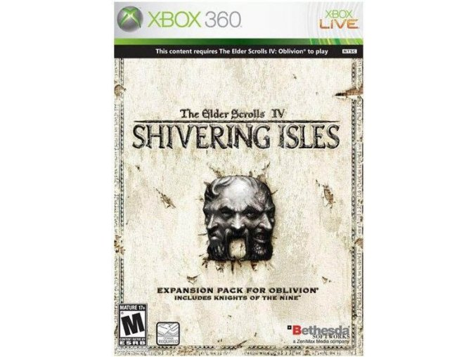 Xbox 360 The Elder Scrolls IV: Oblivion - Shivering Isles