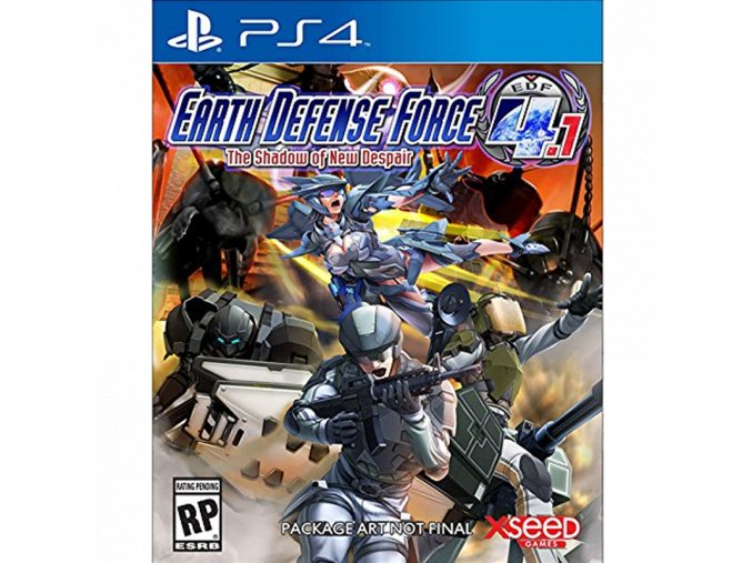 PS4 Earth Defense Force 4.1: The Shadow of New Despair