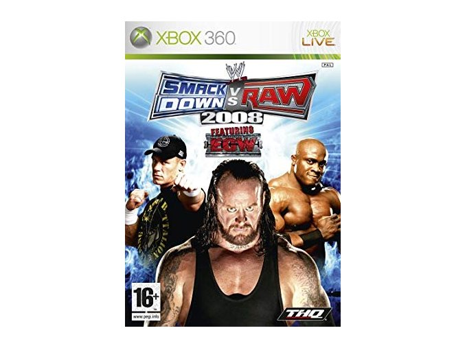 Xbox 360 WWE SmackDown vs. Raw 2008