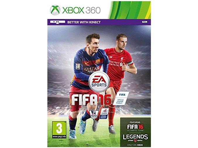 Xbox 360 FIFA 16