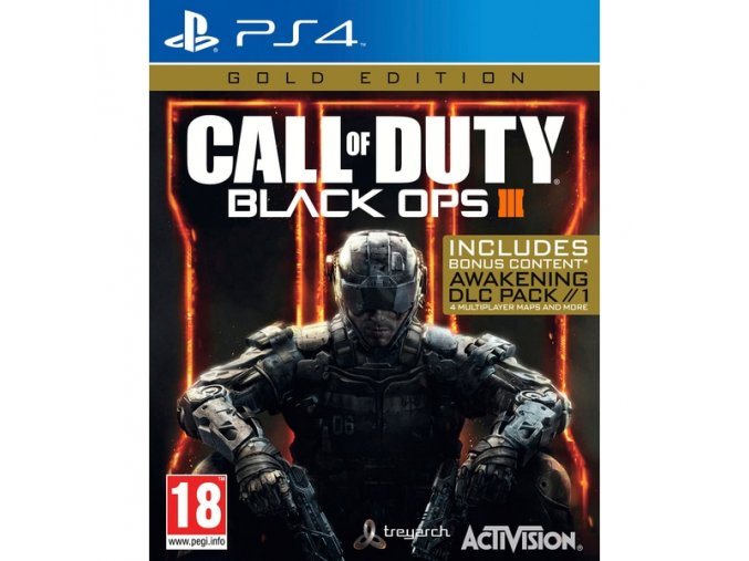 PS4 Call of Duty: Black Ops 3 - Gold Edition