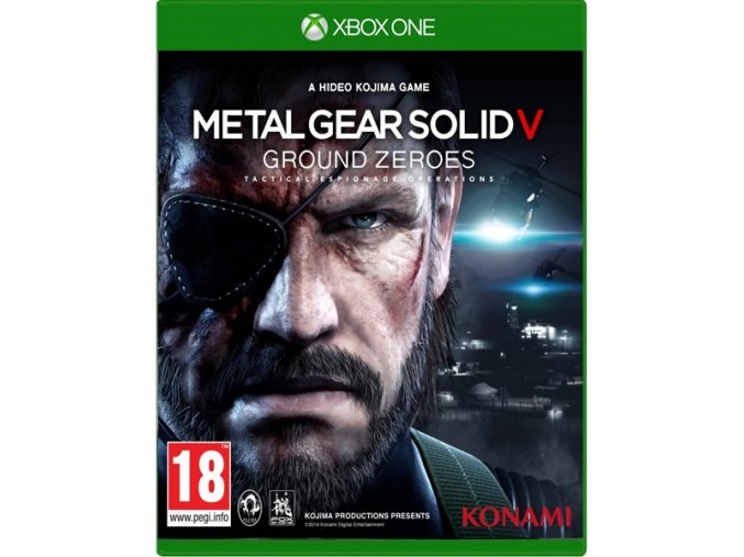 Xbox One Metal Gear Solid V: Ground Zeroes