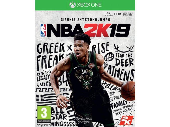 Xbox One NBA 2K19