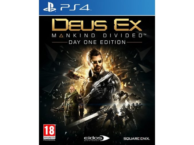 PS4 Deus Ex: Mankind Divided (Day One Edition)