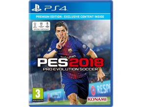 PS4 Pro Evolution Soccer 2018 (Premium Edition)