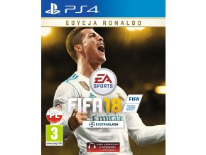 PS4 FIFA 18 (Ronaldo Edition) CZ