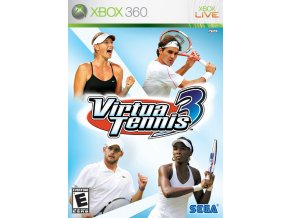 Xbox 360 Virtua Tennis 3