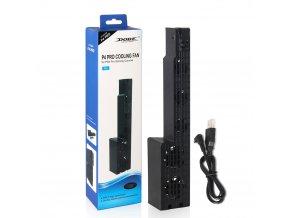 Ventilátor chlazení USB 5 COOLER PS4 Pro