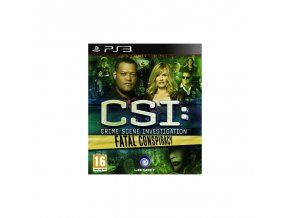 PS3 CSI: Fatal Conspiracy