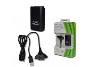 Xbox 360 Nabíjecí baterie akumulátor