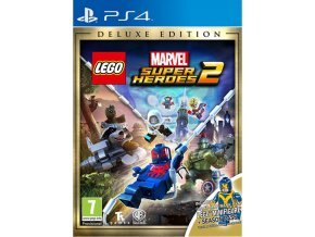 PS4 LEGO Marvel Super Heroes 2 - Deluxe Edition