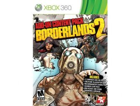 Xbox 360 Borderlands 2 Add-on Content Pack