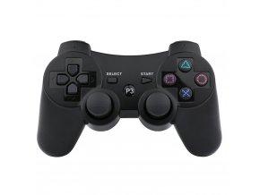 PS3 Bezdrátový ovladač - ČERNÝ