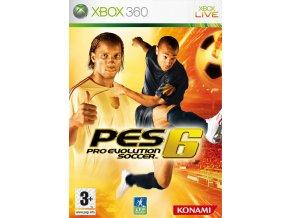 Xbox 360 Pro Evolution Soccer 6