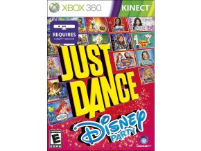 Xbox 360 Just Dance Disney Party
