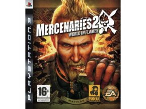 PS3 Mercenaries 2 World In Flames
