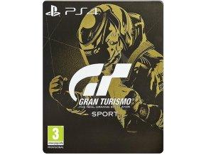 PS4 Gran Turismo Sport CZ STEELBOOK