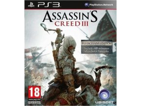 PS3 Assassin's Creed 3 Exclusive Edition