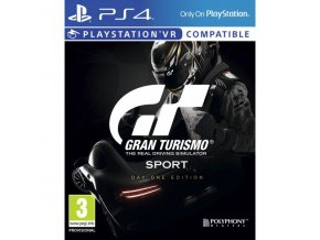 PS4 Gran Turismo Sport - Day One Edition CZ