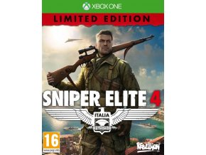 Xbox One Sniper Elite 4 - Limited Edition