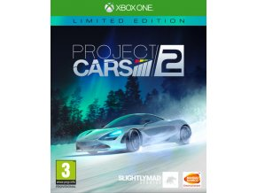 Xbox One Project Cars 2 Steelbook Limited Edition