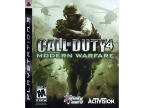 98959 call of duty 4 modern warfare playstation 3 front cover
