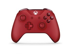 Microsoft Xbox One S Wireless Controller Red