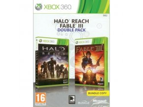 halo reach fable 3 cz double pack xbox 360 41256