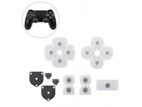 Sada gumových podložek tlačítek ovladače PS4 DualShock JDM-001 - JDM-020