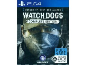 PS4 Watch Dogs (Complete Edition)
