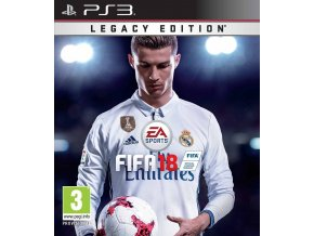 PS3 FIFA 18 Legacy Edition