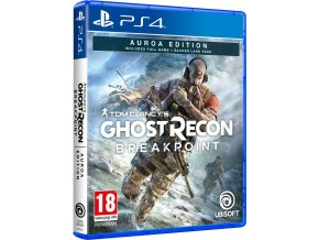 PS4 Tom Clancy's Ghost Recon: Breakpoint (Auroa Edition)