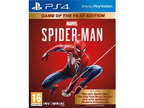 PS4 Spider-Man GOTY Edition