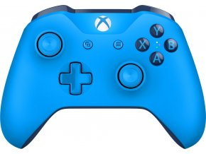 Xbox One S Bezdrátový ovladač modrý
