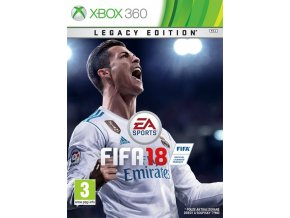 Xbox 360 FIFA 18 Legacy Edition