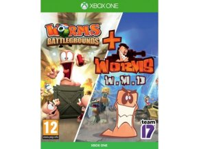Xbox One Worms Battlegrounds & Worms W.M.D (Double Pack)