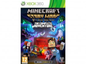Xbox 360 Minecraft: Story Mode The Complete Adventure