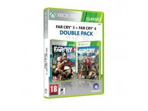 Xbox 360 Far Cry 3 + Far Cry 4 (Double Pack)