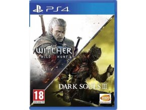 PS4 The Witcher 3: Wild Hunt & Dark Souls 3 Compilation