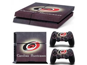 PS4 Polep Skin Carolina Hurricanes