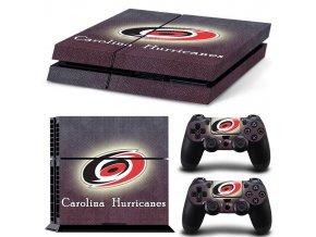 PS4 Polep Skin Carolina Hurricanes