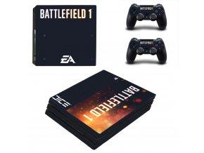 PS4 Pro Polep Skin Battlefield 1