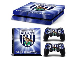 PS4 Polep Skin West Bromwich Albion FC