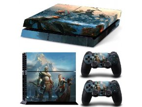 PS4 Polep Skin God of War