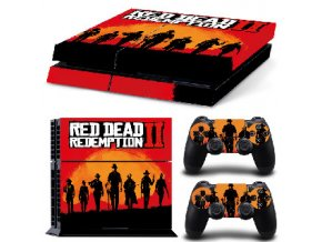 PS4 Polep Skin Red Dead Redemption 2