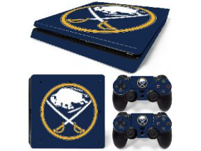 PS4 Slim Polep Skin Buffalo Sabres