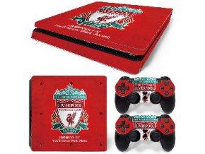 PS4 Slim Polep Skin Liverpool FC