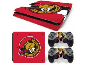 PS4 Slim Polep Skin Ottawa Senators