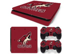 PS4 Slim Polep Skin Arizona Coyotes