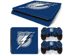 PS4 Slim Polep Skin Tampa Bay Lightning